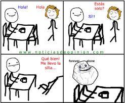 Memes De Forever Alone - memes y chistes de forever alone imagenes chistosas