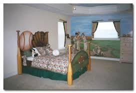 Baseball Bed Frame Home Minimalist Baseball Bedroom Decorating Ideas