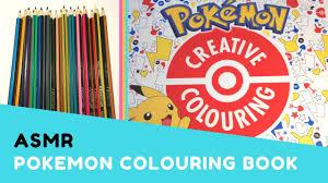asmr pokemon colouring book colouring cute pokemon pencil