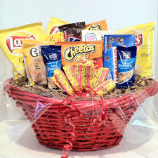 snack gift baskets gift basket for men party all the time sweet and salty snacks 2