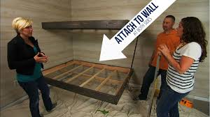 How To Make Floating Bed by Floating Bunk Beds Tutorial Knock It Off Diy Project East