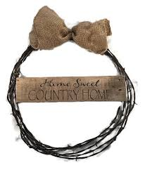 Barbed Wire Home Decor 358 Best Barbed Wire Images On Pinterest Barbed Wire Wreath