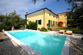 photos of italian riviera house with guest house and pool villa