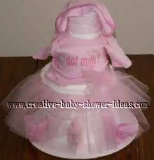 tutu baby shower cakes why make a towel cake