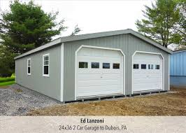 structures garages car 2 car garage shed modular garages pine
