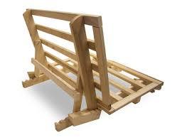 solid wood futon frame basic bed