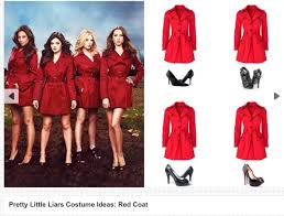 halloween costume ideas for teens red coat costume spook pinterest costume ideas costumes and