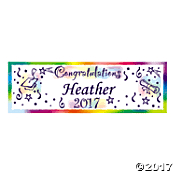 congratulations graduation banner personalized graduation photo banners custom banner decorations