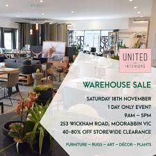 home decor warehouse sale united interiors au home facebook