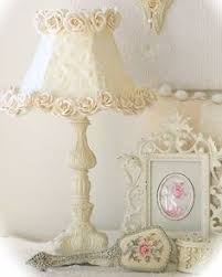 Shabby Chic Lighting by This Would Be So Easy To Reproduce With Your Current Plain Lamp