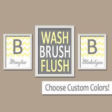 Spa Art For Bathroom - shop gray and yellow bathroom wall art on wanelo