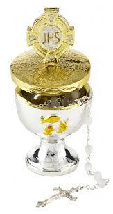 rosary holder communion chalice rosary holder 4 pk sacramental seasonal