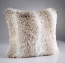Faux Fur Throw Pillow Alpendorf Luxury Faux Fur Cushion Pillow