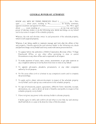 Special Power Of Attorney Sample Letter by 5 General Power Of Attorney Form California Attorney Letterheads