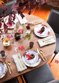 three tricks to setting a cozy thanksgiving table coco kelley