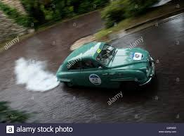 classic saab 1957 classic saab 93 at mille miglia 2016 italy stock photo