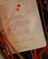 layered wedding programs diy layered wedding program new york city