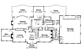 edgewood 30 313 estate home plans associated designs european house plan edgewood 30 313 first floor plan