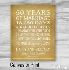 50 year anniversary gift 50th anniversary gift grandparents gift 50 year anniversary