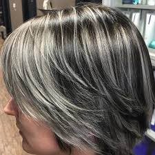 pictures of grey hair with lowlights pictures gray hair lowlights vs highlights best hairstyles library
