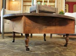 Make Your Own Reclaimed Wood Desk by How To Build A Reclaimed Wood Coffee Table How Tos Diy