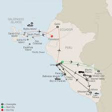 Lake Titicaca Map Galapagos U0026 Amazon Tour Of Peru Globus Tours