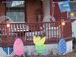 Outdoor Easter Decorations For The Home by Exclusive Outdoor Easter Decorations Family Holiday Net Guide To