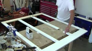 wainscoting bathroom ideas build simple bathroom wainscot pt 1 youtube