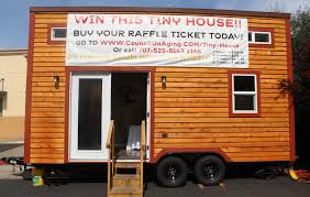 brand new tiny house in santa rosa being raffled off for charity