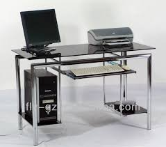 popular glass high quality computer desk for sale view glass