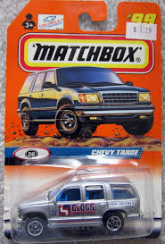 matchbox chevy van mytoycars matchbox chevy tahoe