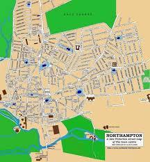 northampton town late victorian street map