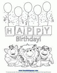 trolls birthday coloring pages trolls birthday trolls
