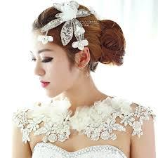 flower necklace wedding images Shoulder necklace bridal jpg