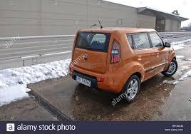mpv car kia kia soul 1 6 my 2008 orange five doors 5d korean popular