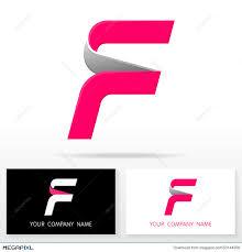 letter f logo icon design template elements illustration