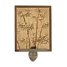 Bamboo Sconce Bamboo Motif Lithophane Night Light Nr138 Destination Lighting