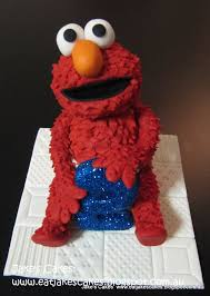 elmo cake topper jake s cakes fondant elmo cake topper