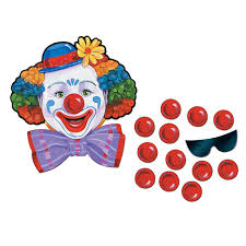 circus clown game w mask 12 noses china wholesale circus clown