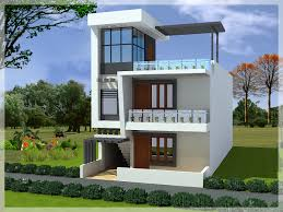 small duplex house elevation