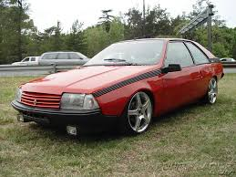 1983 renault alliance view of renault fuego photos video features and tuning of