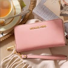 light pink michael kors wallet mkbags 39 on michael kors wallet and michael kors