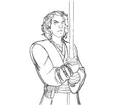 coloring Anakin Skywalker Coloring Pages