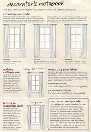 Curtain Size Calculator Curtain Tips By Dominomag Com Tips Pinterest Window Living