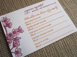 Response Card Wording Rsvp Card Insight U0026 Etiquette Every Last Detail