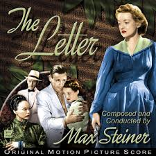 the letter 1940 by max steiner album film score reviews