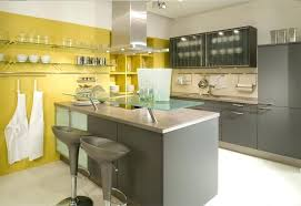 yellow and grey kitchen ideas grey and yellow kitchen fitbooster me