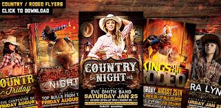 template flyer country free kings of the rodeo flyer template by majkolthemez graphicriver