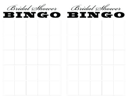 bridal shower gift bingo bridal bingo template expatworld club