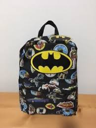 Pottery Barn Batman Backpack Batman Backpack Ebay